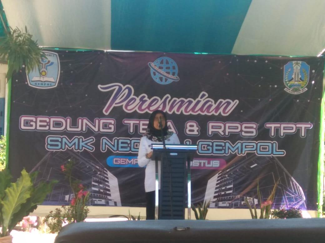 Peresmian Gedung Teaching Factory (TEFA) dan Ruang Praktik Siswa (RPS) TPT.