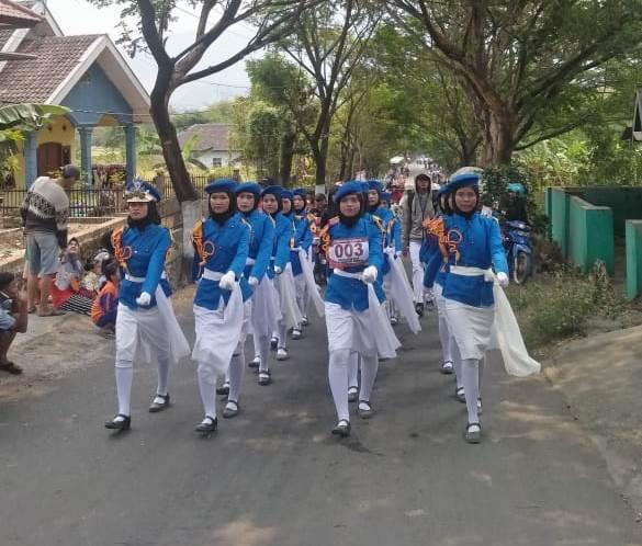 Tampilkan Anak Paskib Kelas X, SMKN 1 Gempol Raih Juara 3 Gerak Jalan Putri se Kecamatan Gempol